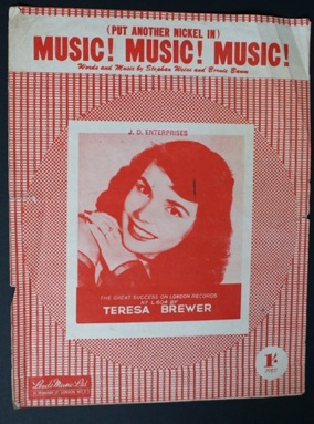 Image for (Put another nickel in) Music! Music! Music! Theresa Brewer