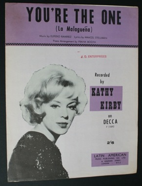 Image for You're The One. La Malaguena. Kathy Kirby
