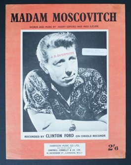 Image for Madam Moscovitch. Clinton Ford