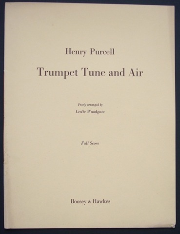 Image for Trumpet Tune and Air. Full Score