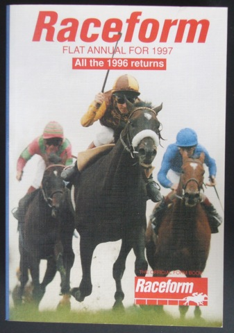 Image for Raceform Flat Annual for 1997. All the 1996 returns
