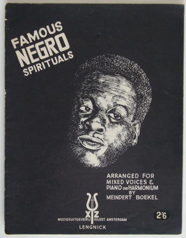 Image for Famous Negro Spirituals. Arranged for Mixed Voices and Piano or Harmonium