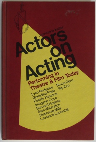 Image for Actors on Acting