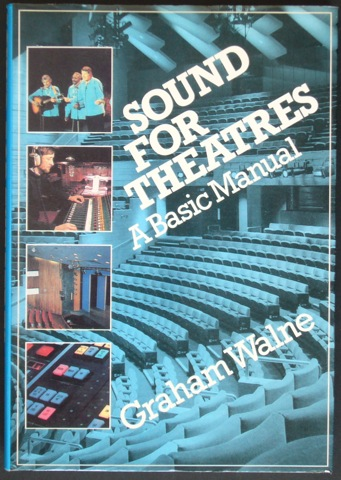 Image for Sound for Theatres. A Basic Manual