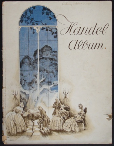 Image for Handel Album of Selected Piano Pieces