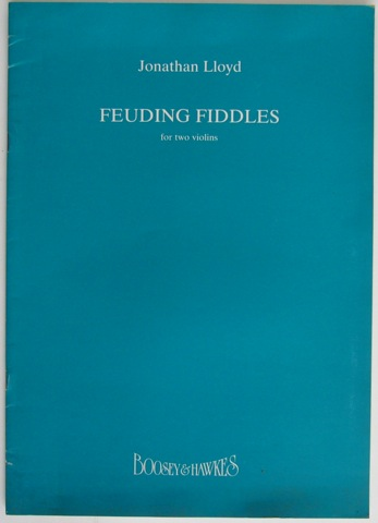 Image for Feuding Fiddles for two violins