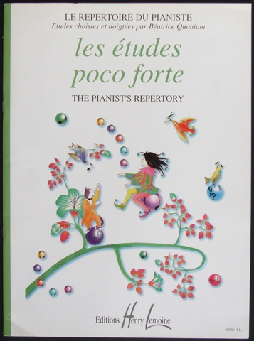 Image for Les Etudes Poco Forte. Le Repertoire du Pianiste/ The Pianist's Repertory
