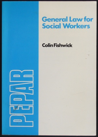 Image for General Law for Social Workers