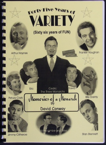 Image for Forty Five Years of Variety (Sixty Years of Fun). Memories of a Monarch - a pictorial autobiography. Foreword by Danny La Rue