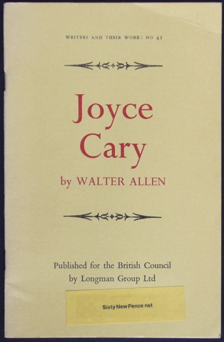 Image for Joyce Cary