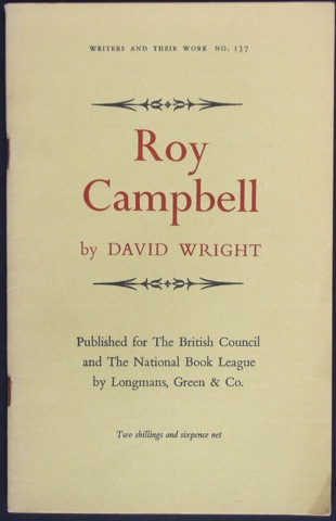 Image for Roy Campbell