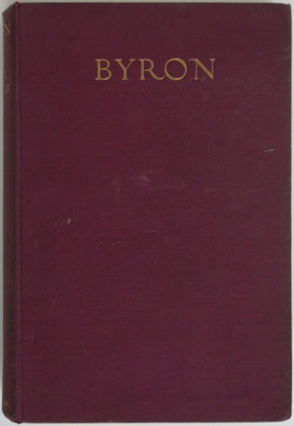 Image for Byron. Translated from the French by Hamish Miles