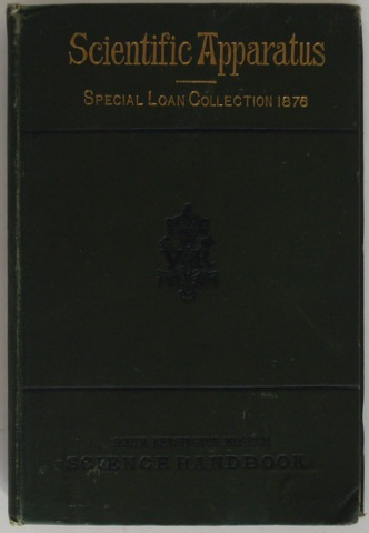 Image for Handbook to Special Loan Collection of Scientific Apparatus