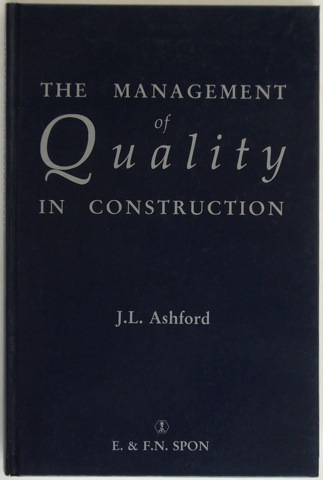 Image for The Management of Quality in Construction
