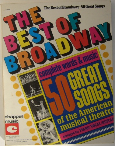 Image for The Best of Broadway: 50 Great Songs