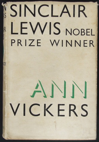 Image for Ann Vickers