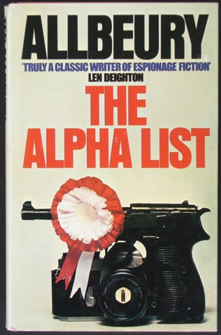 Image for The Alpha List
