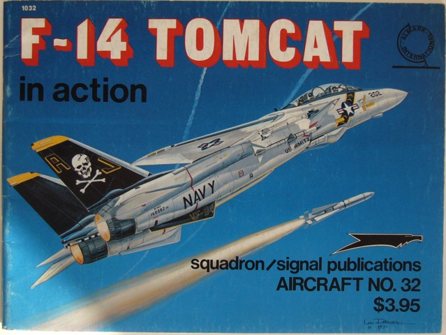 Image for F-14 Tomcat in action. Aircraft No. 23