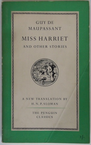 Image for Miss Harriet and other stories
