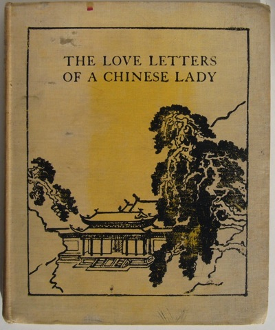 Image for The Love Letters of a Chinese Lady