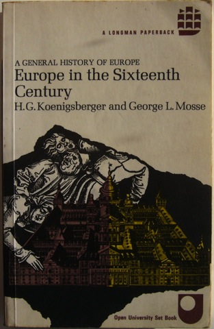 Image for Europe in the Sixteenth Century