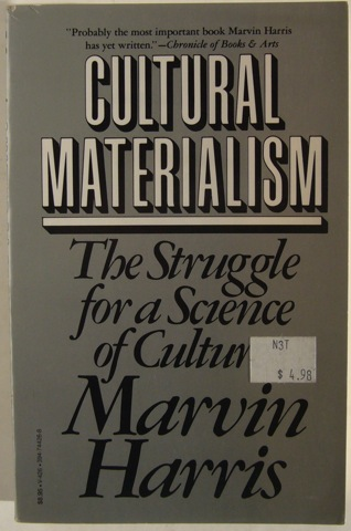 Image for Cultural Materialism. The Struggle for a Science of Culture