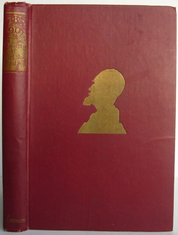 Image for G. B. S. 90. Aspects of Bernard Shaw's Life and Work.