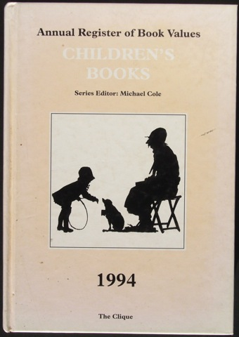 Image for Annual Register of Book Values: Children's Books 1994.