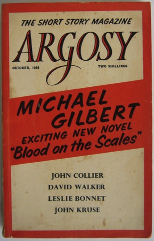Image for Argosy: The Short Story Magazine October 1958.