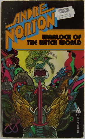 Image for Warlock of the Witch World.