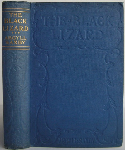 Image for The Black Lizard: A Story of Adventure in the Syrian Desert.
