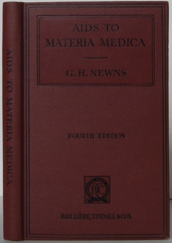 Image for Aids to Materia Medica