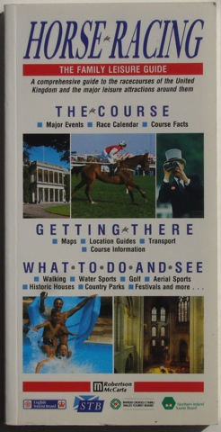 Image for Horse-Racing: The Family Leisure Guide
