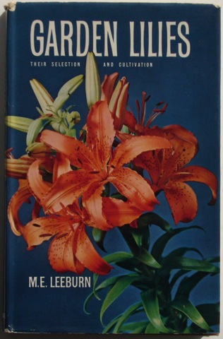 Image for Garden Lilies: their selection and cultivation