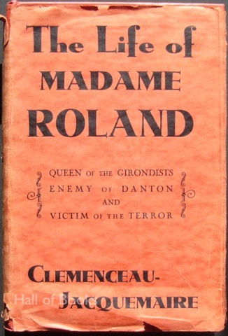 Image for The Life of Madame Roland