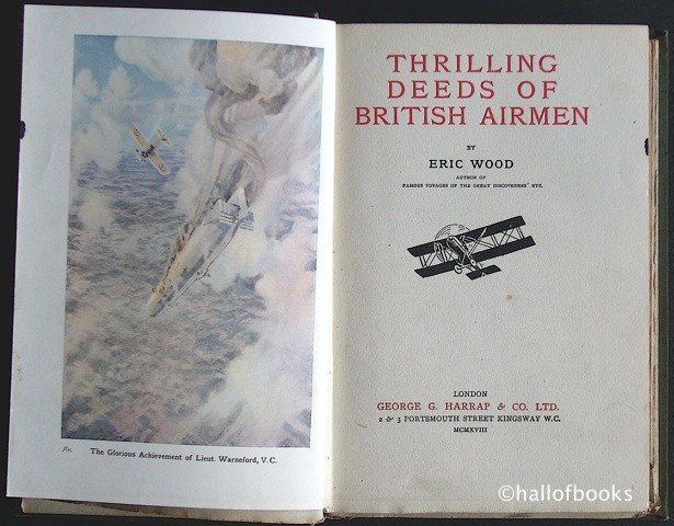 Image for Thrilling Deeds of British Airmen