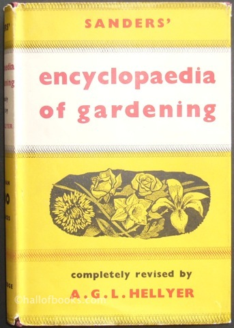 Image for Sanders' Encylopaedia of Gardening with Supplement