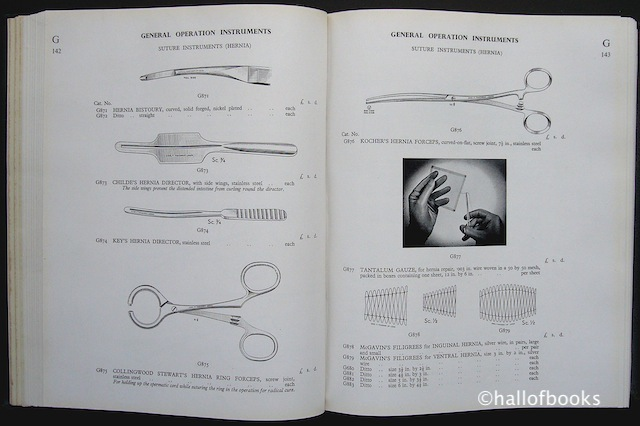 Image for A Catalogue of Surgical Instruments and Surgical Sundries