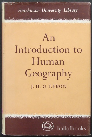 Image for An Introduction to Human Geography