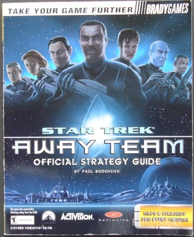 Image for Star Trek Away Team Official Strategy Guide