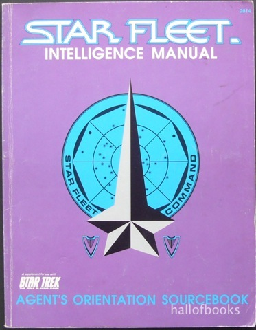 Image for Star Fleet Intelligence Manual: Agent's Orientation Sourcebook