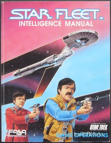 Image for Star Fleet Intelligence Manual: Game Operations