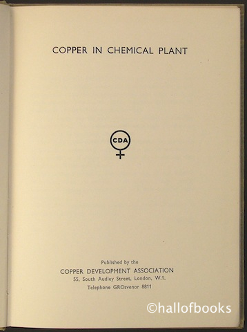 Image for Copper in Chemical Plant