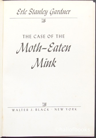Image for The Case of the Moth Eaten Mink