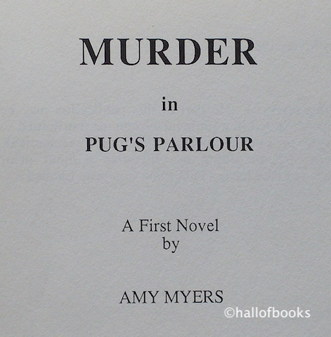 Image for Murder in Pug's Parlour