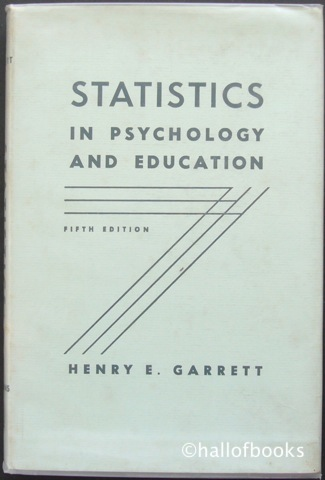 Image for Statistics in Psychology and Education