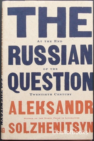Image for The Russian Question: At the End of the Twentieth Century