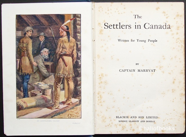 Image for The Settlers in Canada: Written for Young People