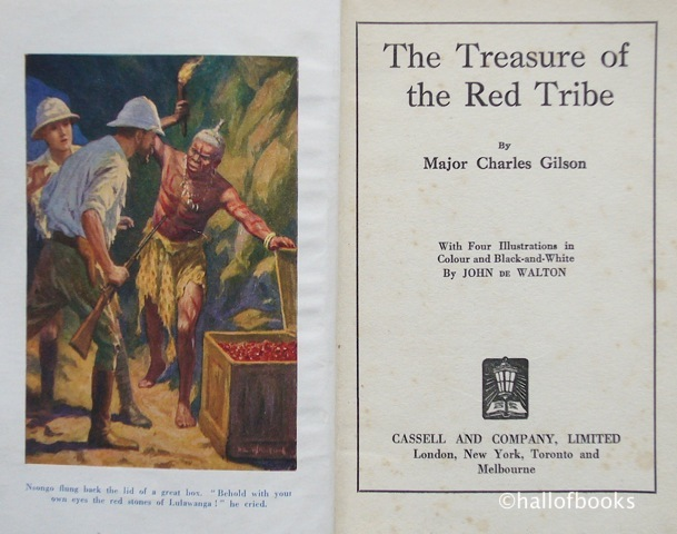 Image for The Treasure Of The Red Tribe