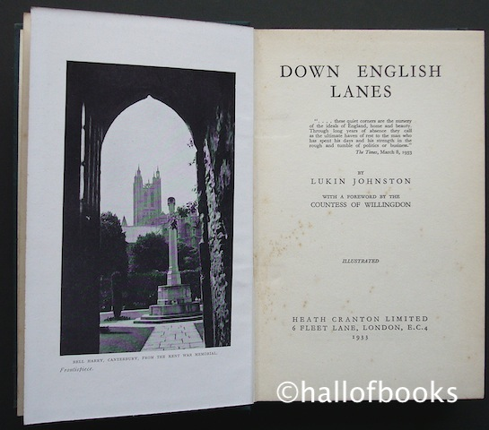 Image for Down English Lanes